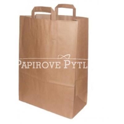 Papírová taška eko 26x35x12cm