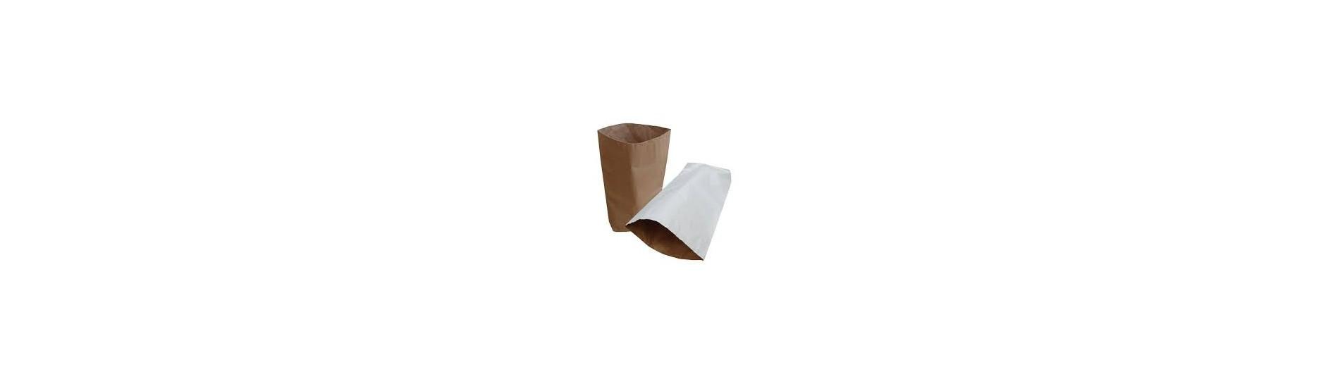 Papírové pytle s PE vložkou - jedná se o papírové pytle z vrstvou HDPE či LDPE folie